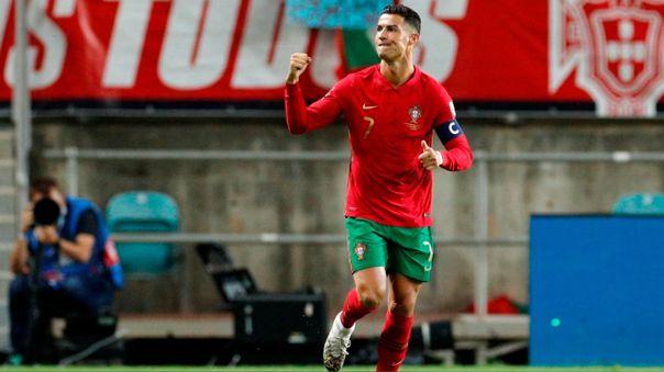 Cristiano Ronaldo anotó doblete ante Luxemburgo por Eliminatorias