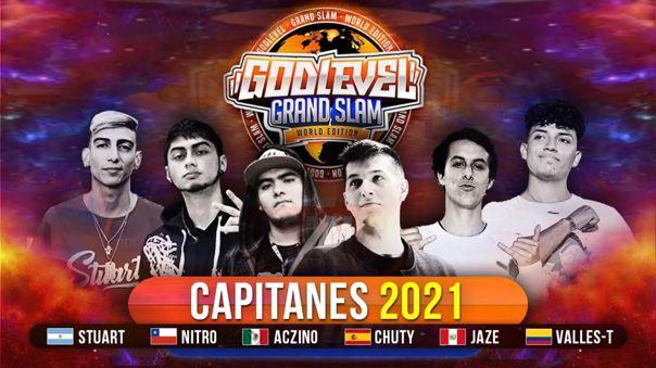 God Level Grand Slam 2021: Jornadas, jurados, equipos y todo lo que debes saber del evento en México