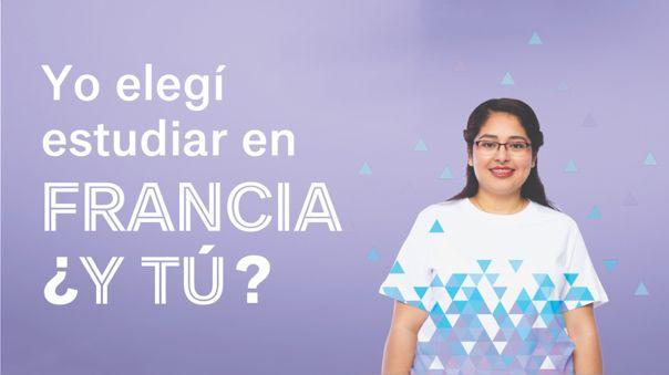 Postula para el año académico 2022-2023 a través de Campus France Perú.