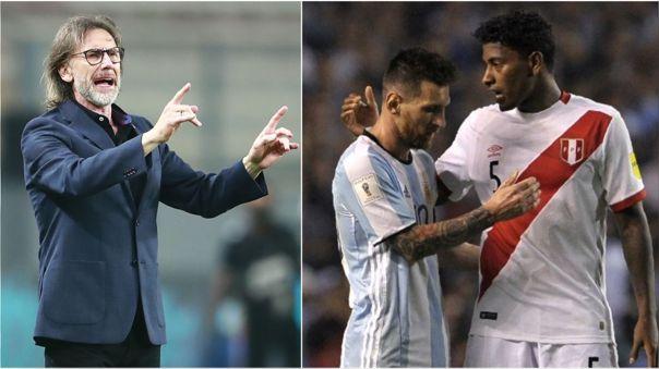 Ricardo Gareca dirigió tres veces a Perú ante Argentina