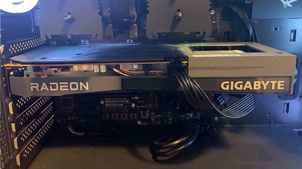 Esta es la Radeon RX 6600 en el modelo Eagle de Gigabyte.
