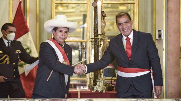Luis Barranzuela juró al cargo de ministro del Interior el pasado 6 de octubre.