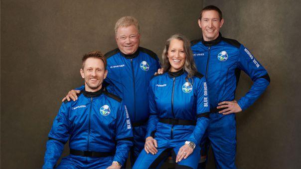 US-SPACE-BLUE ORIGIN-SHATNER