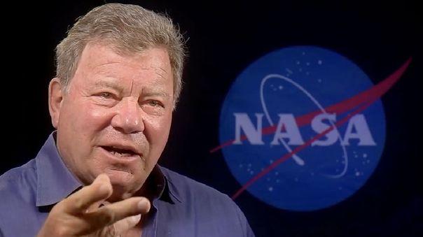 William Shatner y la NASA