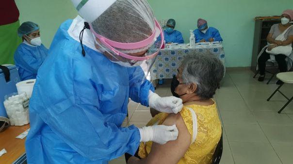 Aplicación de vacuna