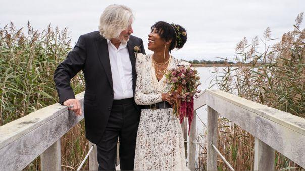 Roger Waters contrajo matrimonio por quinta vez