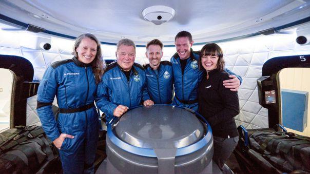 La tripulación del NS18