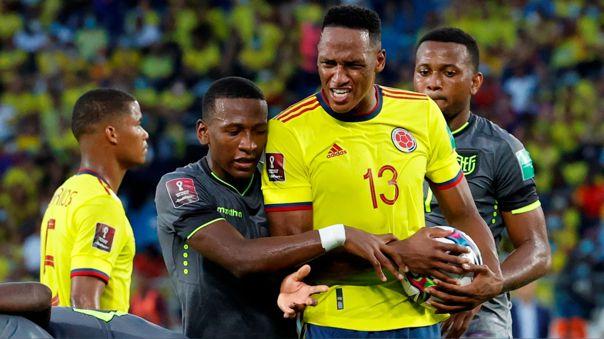 Ecuador empató 0-0 con Colombia por la fecha 12 de las Eliminatorias Qatar 2022