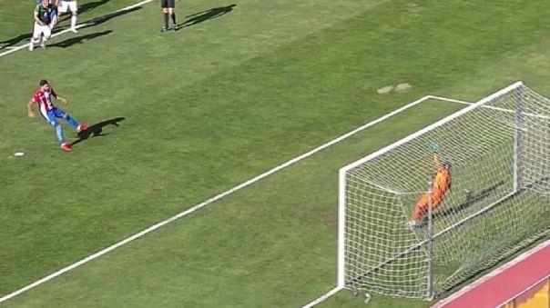 Antonio Sanabria falló un penal en el Bolivia vs. Paraguay