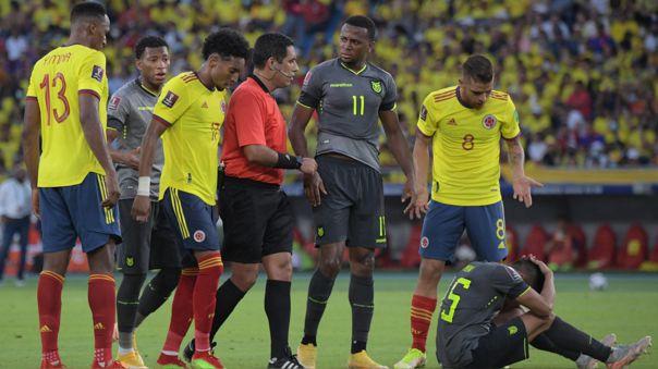 Colombia empató 0-0 con Ecuador por la fecha 12 de las Eliminatorias Qatar 2022