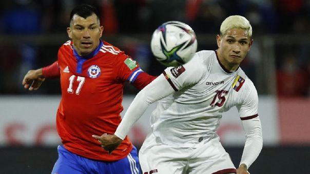 Venezuela perdió 3-0 ante Chile por la fecha 12 de las Eliminatorias