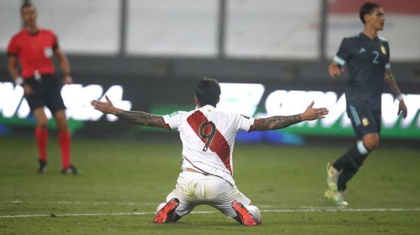 Perú visita a Argentina en Buenos Aires por la fecha 12 de las Eliminatorias