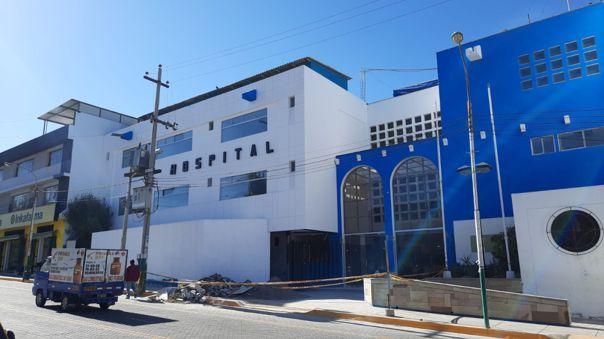 Arequipa: Contraloría detecta irregularidades en obra de hospital Edmundo Escomel de EsSalud