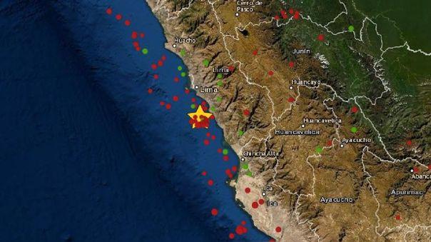 Un sismo de magnitud 3.4 remeció la región Lima esta madrugada