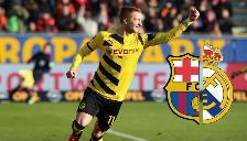 Marco Reus con el corazón partido y su futuro apunta a Barcelona o Real Madrid