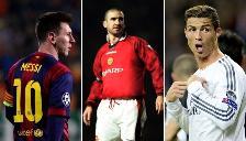PSG: Eric Cantona cree que Javier Pastore es mejor que Messi y Cristiano