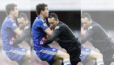 Arsenal vs. Chelsea: David Ospina empujó a Oscar en el área y no fue penal