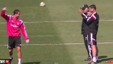 Real Madrid: Carlo Ancelotti entrena y ríe con Cristiano Ronaldo