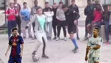 Facebook: la chica que tiene más técnica que Cristiano Ronaldo y Messi