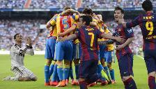 Barcelona: Jugadores del 'Barza' celebran gol del Valencia en duelo con Real Madrid