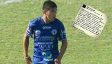 Argentina: futbolista deja emotivo mensaje que lo caracterizó hasta su muerte