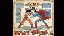 Personajes de ficción se alistan para pelear en una lucha de box