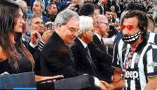 Andrea Pirlo quedó 'flechado' en la final de la Copa Italia