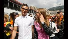 Cristiano Ronaldo se luce en Mónaco con Fernando Alonso y una modelo