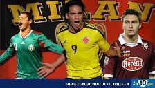 Fichaje: AC Milan quiere a Radamel Falcao y otras 5 estrellas