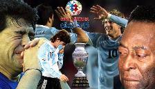 Copa América: ¿Qué tienen en común Messi, Pelé y Maradona?