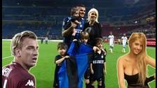 Serie A: Mauro Icardi es el goleador del torneo y lo celebró con Wanda Nara