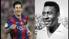 Messi vs. Pelé: se reabre el debate de quién es el mejor del mundo