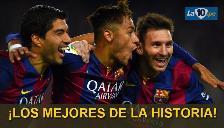 Barcelona vs. Juventus: Messi-Neymar-Suárez, el mejor tridente de la historia