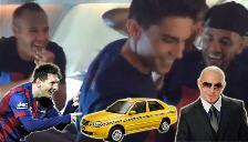 Barcelona: Lionel Messi y sus compañeros celebraron bailando 'el taxi'
