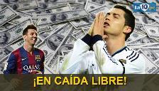 Cristiano Ronaldo ya no es el segundo jugador más valioso del mundo