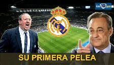 Real Madrid: Rafa Benítez y Florentino Pérez ya tuvieron su primera pelea