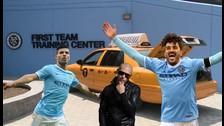 Manchester City: David Villa y Sergio Agüero terminaron el duelo del taxi