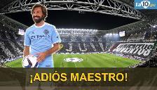 Juventus se despide de Andrea Pirlo que fichó por el New York City de la MLS
