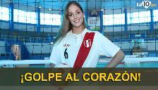 Raffaella Camet anunció su retiró de la Selección Peruana de Vóley