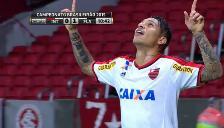 Paolo Guerrero debuta con gol en Flamengo