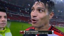 Paolo Guerrero contó el secreto de su primer gol en Flamengo