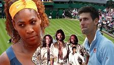 Novak Djokovic y Serena Williams sorprender con baile a lo 'Bee Gees'