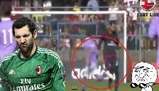 AC Milan: Diego López cometió un 'blooper' terrible