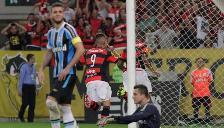Paolo Guerrero: Flamengo venció 1-0 a Gremio con gol del peruano