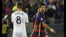 Barcelona venció 2-1 a LA Galaxy de la mano de Luis Suárez