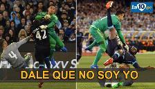 Real Madrid vs. Manchester City: Keylor Navas y una entrada criminal a Yaya Touré