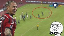 AC Milan: Philippe Mexes marcó un golazo de 'volea'