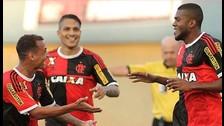 Paolo Guerrero dio pase gol en la victoria por 1-0 de Flamengo ante Goias