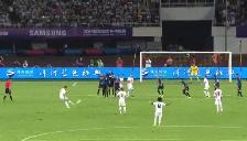 Cristiano Ronaldo: Arquero del Inter le tapó espectacular tiro libre