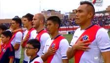 Fiestas Patrias: Deportivo Municipal cantó el himno nacional antes de jugar